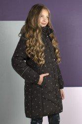 Lenne Adele пальто для девочки горох