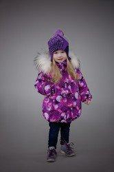 Lenne Emily куртка для девочки фиолетовая