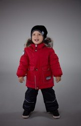 Lenne Dean удлиненная куртка для мальчика красная