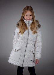 Lenne Greta пальто для девочки молочное, подросток