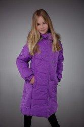 Lenne Isabel пальто для девочки фиолетовое, подросток