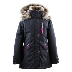 Lenne Angel куртка парка для девочки чёрная подросток