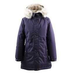 Lenne Tessa куртка парка для девочки баклажан