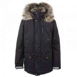 Lenne Jako куртка парка для мальчика темно-синяя 20368-042 чёрная