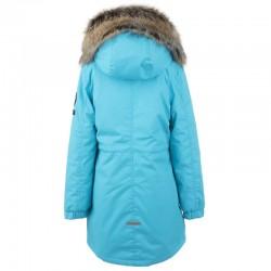 Lenne Edna куртка парка для девочек и молдых мам 20671-663 бирюзовая