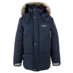 Lenne Shaun удлиненная зимняя куртка для мальчика синяя