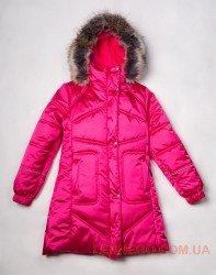 Lenne Adele пальто для девочки красное, подросток