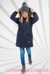 Lenne Barby куртка парка для девочки темно-синяя, подросток