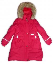 Lenne Coral пальто для девочки (коралловое)