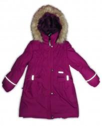 Lenne Coral пальто для девочки (фиолетовое)