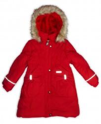 Lenne Coral пальто для девочки (красное)