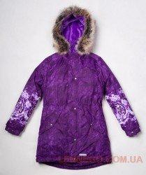 Lenne Tiffy пальто парка для девочки фиолетовое, подросток