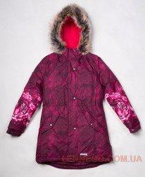 Lenne Tiffy пальто парка для девочки малиновое, подросток