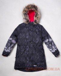 Lenne Tiffy пальто парка для девочки серое, подросток