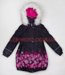 Lenne Stella пальто для девочки черное
