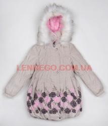 Lenne Stella пальто для девочки бежевое