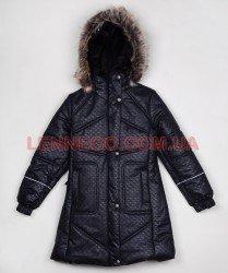 Lenne Adele пальто для девочки черное, подросток