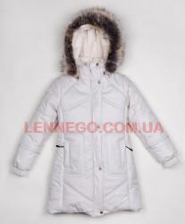 Lenne Adele пальто для девочки молочное, подросток