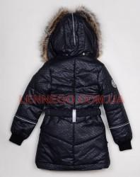 Lenne Greta пальто для девочки черное, подросток