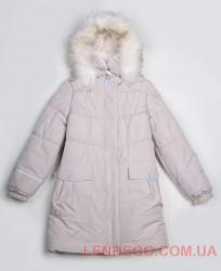 Lenne Liisa пальто для девочки бежевое