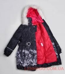 Lenne Stella пальто для девочки серое