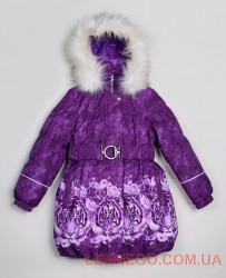 Lenne Stella пальто для девочки фиолетовое