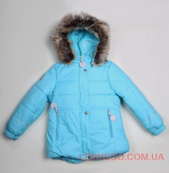Зимняя куртка для девочки lenne maria бирюзовая