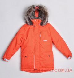 Lenne Woody куртка парка для мальчика, оранжевая подросток