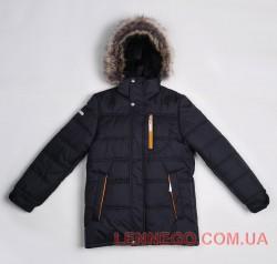 Lenne Luke куртка для мальчика, черная подросток