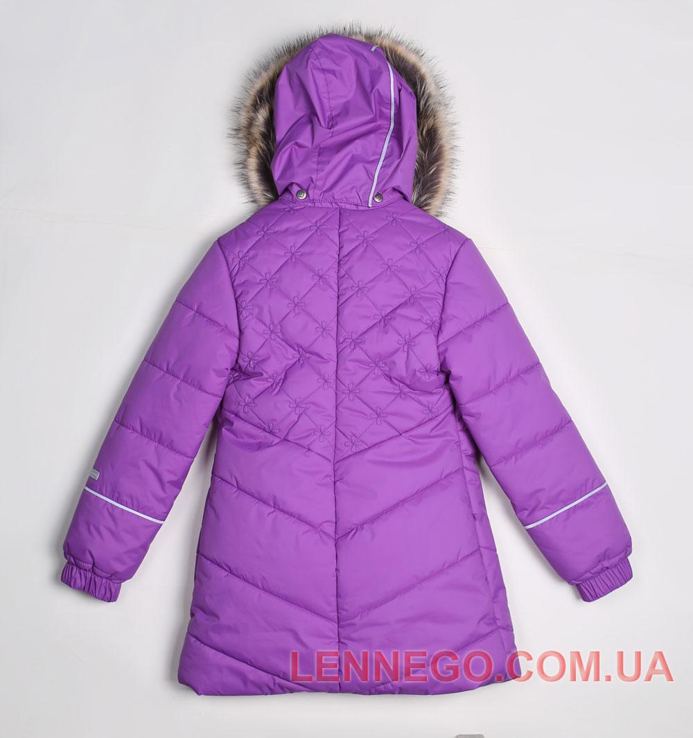 Lenne Pealry пальто для девочки темно-сиреневое, подросток