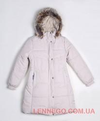 Пальто для девочки lenne isabel молочное