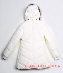 Lenne Pealry пальто для девочки молочное, подросток