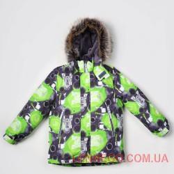 Lenne Alex куртка для мальчика, салатовая
