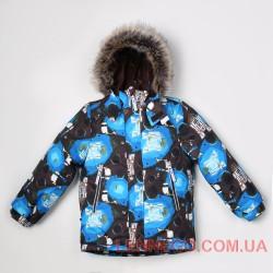 Куртка для мальчика lenne alexl голубая