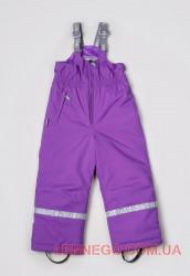 Зимний полукомбинезон для девочки heidi фиолетовый