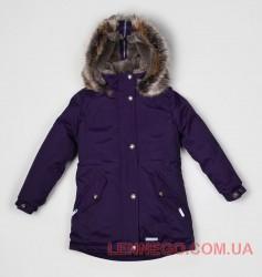 Lenne Stella куртка парка для девочки баклажан, подросток