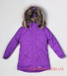 Куртка парка для девочки Lenne Stella темно-сиреневая