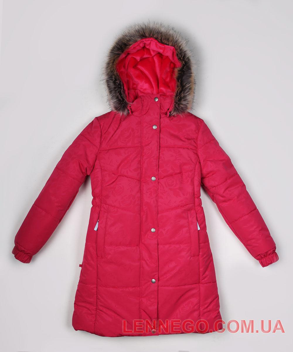 Lenne Isabel пальто для девочки малиновое, подросток
