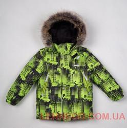 Куртка для мальчика lenne city салатовая