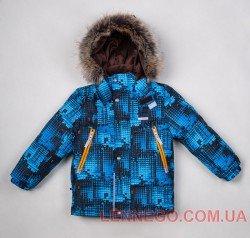 Lenne City куртка для мальчика, бирюзовая