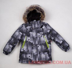 Lenne City куртка для мальчика, серая