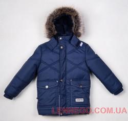 Lenne Dean удлиненная куртка для мальчика темно-синяя