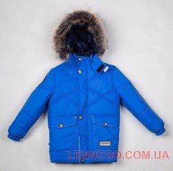 Lenne Dean удлиненная куртка для мальчика синяя