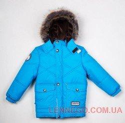 Lenne Dean удлиненная куртка для мальчика голубая