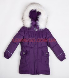 Lenne Lenna пальто для девочки (баклажан)