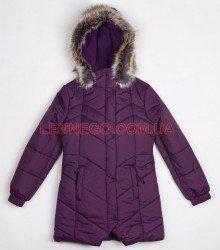 Lenne Pearl пальто для девочки баклажан, подросток