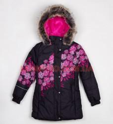 Lenne Lucy пальто для девочки черное, подросток