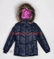 Lenne Clara куртка для девочки темно-синяя