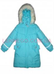 Lenne Lenna пальто для девочки (бирюзовое)