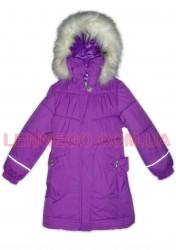 Lenne Lenna пальто для девочки  (темно-сиреневое)